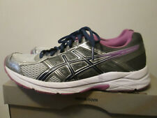 Asics Gel Contend 4 Silver/Campanula/Carbon Light Wt Running Training Shoes 9