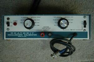 Vintage Heathkit IG-4505 Oscilloscope Calibrator, Works Great!