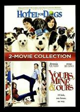 New! Hotel for Dogs / Yours, Mine, & Ours - 2-Movie Collection (Dvd, 2018)