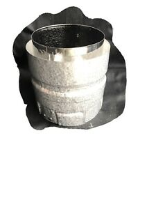 DuraVent 3PVL-AD Stove Adapter Pellet Vent 3 Inch Stainless Steel