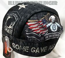 All Gave Some Some Gave All POW / MIA Headwrap Biker Doo Rag Cap #1055