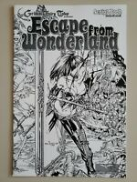 Grimm Fairy Tales Escape From Wonderland Script Book #01 Sketch Variant VF/NM