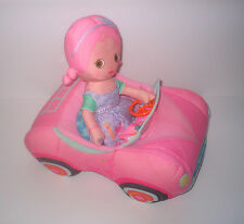 Zapf Mooshka Plush Doll & Car