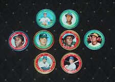 Lot of (8) Different 1971 Topps Baseball Coins w/4 Hall of Famers