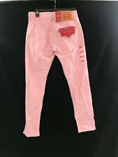 Men's Levi's 512 slim taper stretch fit pink denim jeans 30 X 30 New tags