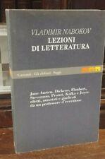 Nabokov - Lezioni di Letteratura Garzanti Gli elefanti Saggi 1992 R