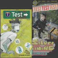 TEST #1 Set of Two COVER A + B TRANSMETROPOLITAN HOMAGE Sebela & Hickman VAULT