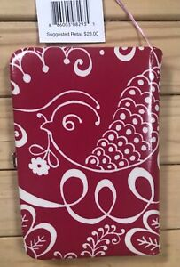 Vera Bradley Show and Tell Photo Album Book in TWIRLY BIRDS PINK, New w/Tags
