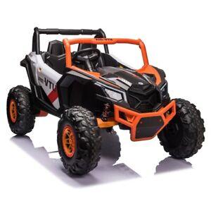 24V Beach Buggy Infinity Electric Ride on car UTV - Orange   -  Pre Order ETA 25