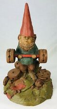 "Tom Clark Gnome Bubba Weight Lifter #1118 Edition #33 COA 8"" Cairn Studio"