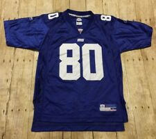New York Giants Jersey Reebok Jeremy Shockey Youth Large Womens Small Medium NFL