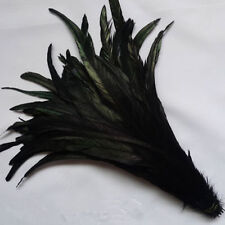 """14-16""""long Dyed Rooster COQUE tail Feathers,16+ colors to pick from, New!"""