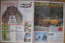 QUATTRORUOTE JUNIOR 7 1969 FIAT 128 AEREO CACCIA G 91 Y LA CAMPAGNOLA