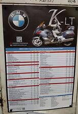 Custom BMW K1200LT Torque Spec Shop Art Poster! by Kirk Johnson