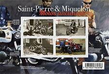 Saint Pierre Miquelon 2017 old motorcycles motos motorbike Motorräder ms4v mnh