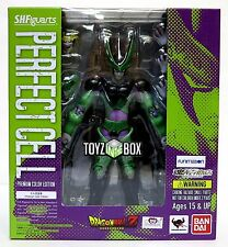 """In STOCK S.H. Figuarts Dragonball Z """"Perfect Cell"""" Premium Color Action Figure"""