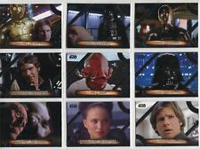 Star Wars Galactic Files Reborn Complete Famous Quotes Chase Card Set MQ1-15