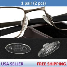 Silicone Replacement Nose Pads for Oakley Eye Glasses Sunglasses Push On Snap In