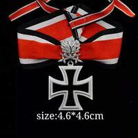 WWII GERMAN WH OAK LEAF SWORDS DIAMONDS KNIGHTS IRON CROSS SILVER Replica