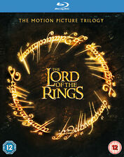 Lord Of The Rings Original Motion Picture Trilogy (Blu-Ray)