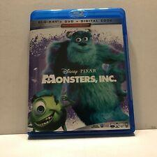 Disney Pixar Monsters Inc  Movie Blu-Ray Discs Only (No DVD No Digital)