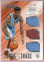 EMMANUEL MUDIAY RC 2015-16 ABSOLUTE TOOLS OF THE TRADE JERSEY BALL #31/99