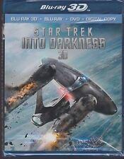 STAR TREK INTO DARKNESS 3D BLURAY & BLU-RAY & DVD SET with Benedict Cumberbatch