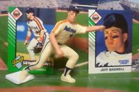 1993 JEFF BAGWELL - Starting Lineup Baseball Figure & Two Cards - HOUSTON ASTROS