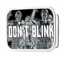Doctor Who Don't Blink Weeping Angels Images Belt Buckle, NEW UNUSED