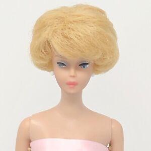 Vintage Barbie Bubblecut - BEAUTIFUL Light Blonde - in Pink Gown