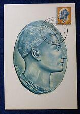 FDC - CARD LEON BATTISTA ALBERTI - 1972
