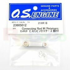 CONNECTING ROD 21XR-B,21VG,21RG W/RETAINERS # OS23605012 O.S. Engines =23605010