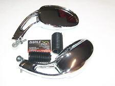 Specchio Retrovisore Cromato DX Malaguti F10 / F12 / F15          * Barilemoto *