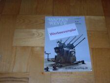WAFFEN REVUE 36/80  2 cm-FLAKVIERLING 38/MAUSER REVOLVER/Bombenzünder eAZ/RGD 33