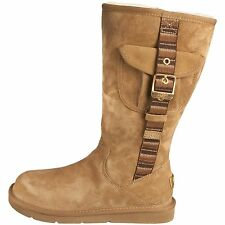 UGG® AUSTRALIA RETRO CARGO SHEEPSKIN ZIP UP BOOTS UK 4.5 EUR 37 USA 6 RRP £195