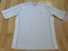 Coolibar Cooltec Upf 50 White Shirt Sleeve Shirt Size L