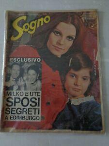 FOTOROMANZO (SOGNO) N.11 16 MARZO 1969 - MILVA E LA FIGLIA MARTINA - LEGGI