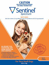 Sentinel Spectrum for Very Small Dogs up to 4kg - 6pack