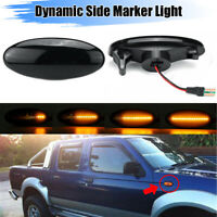 Dynamic Side Marker Turn Signal Light For Nissan Navara D22 NP300 Frontier 98-05