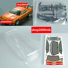 190mm 1/10 RC Car PC  Clear BODY SHELL for  Dodge viper SRT8 190mm PC201205