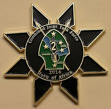 Combined Joint Task Force Horn of Africa J2 Intelligence Military Challenge Coin