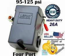 4 Port 26 Amp Pressure Switch Control Air Compressor 90 125 Psi Heavy Duty