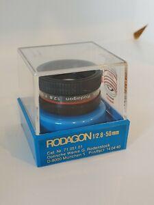 50mm f2.8 Rodenstock rodagon enlarging lens