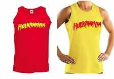 Hulkamania / Hulk Hogan wwe red / yellow vest (Fancy dress)