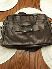 Piquadro Briefcase/Carrying Case, PIQUADRO  brown leather coach bag