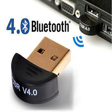 Mini Bluetooth 4.0 USB 2.0 CSR4.0 Dongle Adapter For Win 8 7 XP Laptop PC