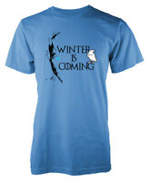 Game of Thrones Winter is Coming White Walkers Ice Creatures GOT Adult T Shirt