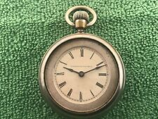 Long Wind Pocket Watch Early Waterbury Series C