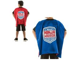 American Ninja Warrior Reversible Cape Red/Blue