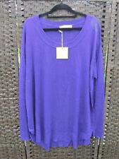 TS 14+ Virtuelle Maya Pullover Purple Violet XS 14 16 BNWT $69.95